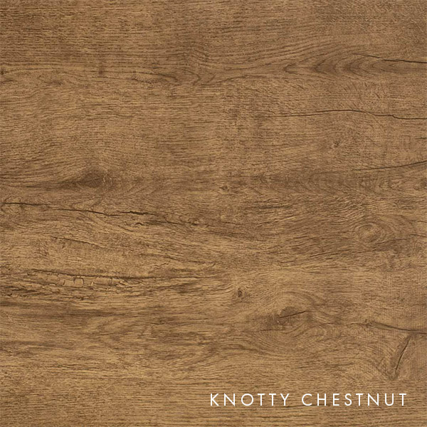 lux knotty woodgrain chestnut