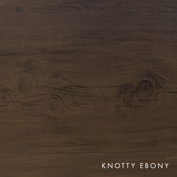 lux knotty woodgrain ebony