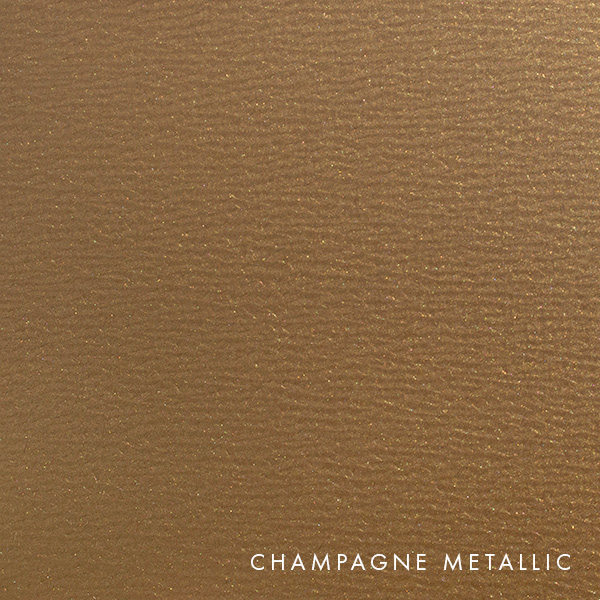 lux panel metallic swatch champagne metallic