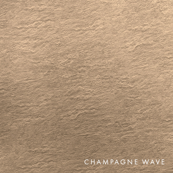 lux panel metallic swatch champagne wave