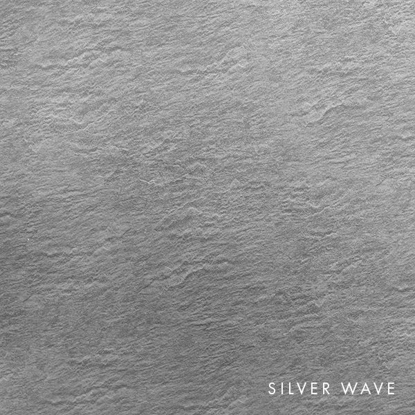 lux panel metallic swatch silver wave