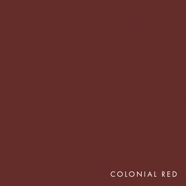 lux panel solid colours colonial red