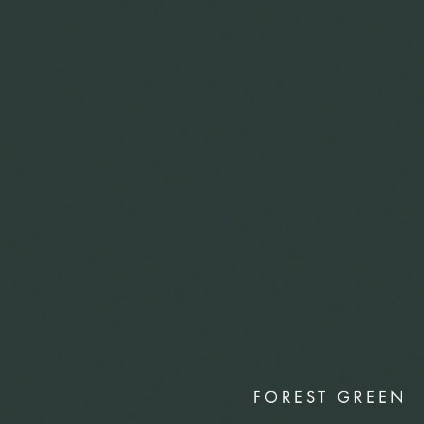 lux panel solid colours forest green