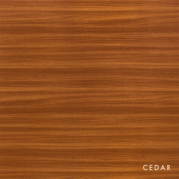 lux panel woodgrain gallery cedar
